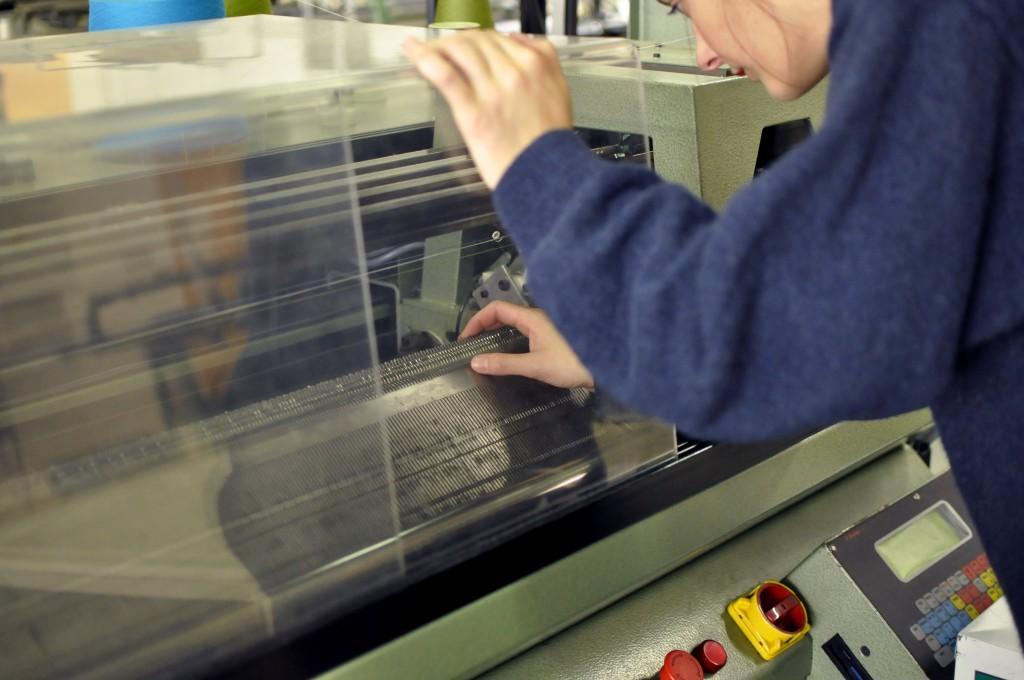 Prototypage /  échantillonnage tricotage