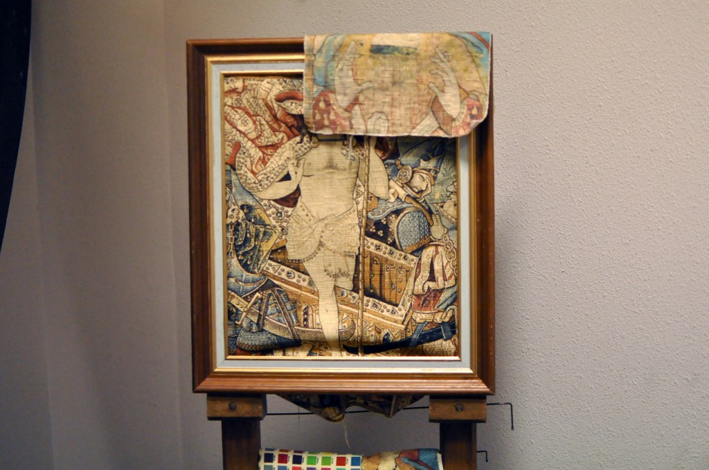 Reproduction par des technologies innovantes de tapisseries anciennes: Prix de l'innovation en 2007