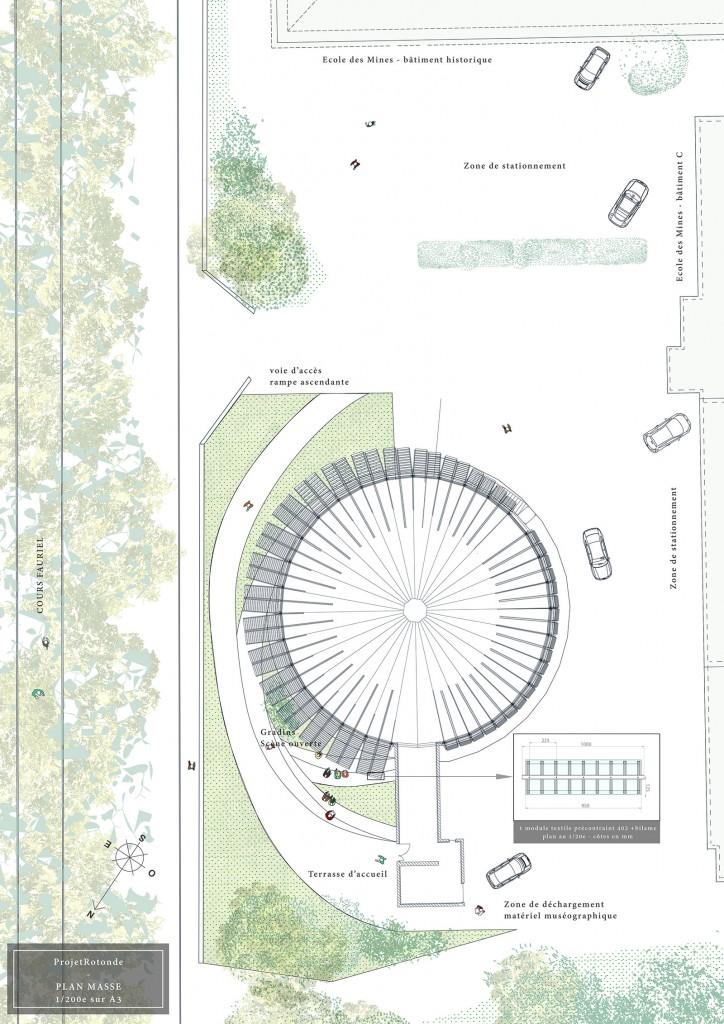 plan projet rotonde