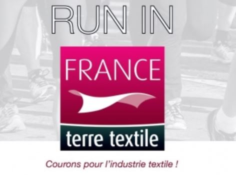 logo france terre textile run in lyon 2017