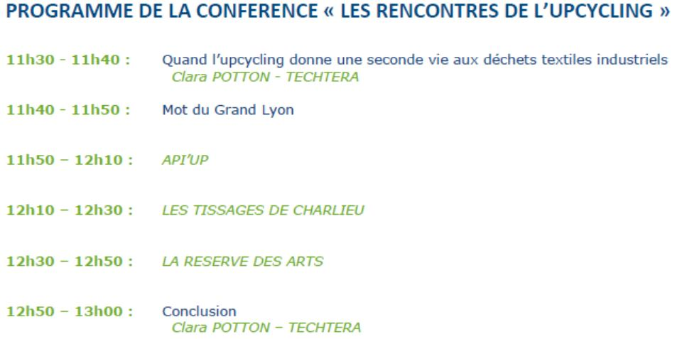 conference recycl